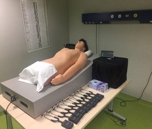 Salle de consultation cardio-pulmonaire