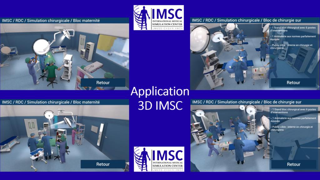 Application 3D IMSC